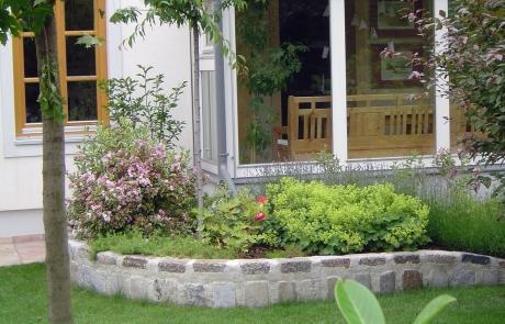 bepflanzungen garten